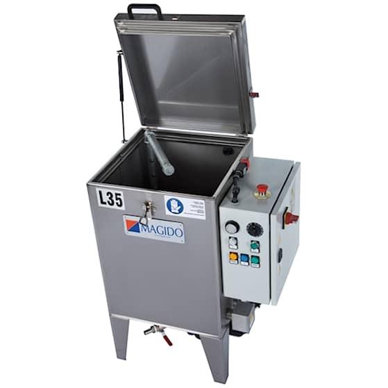 Magido Smådelstvätt L35/C 40L med värmare