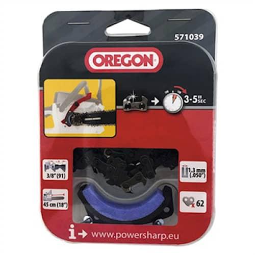 "Oregon Kedja, Powersharp 3/8 1,3 18"" Lågprofil"
