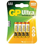 GP Ultra AAA Batteri, 1000050675