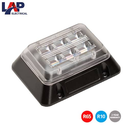 LAP LED Quad Orange Blixtljus