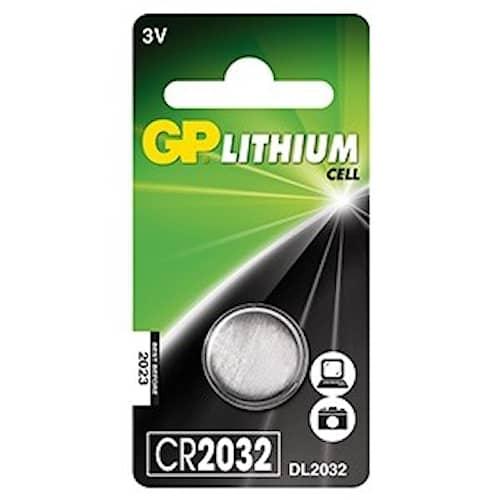 GP 2032 Knappcellsbatteri