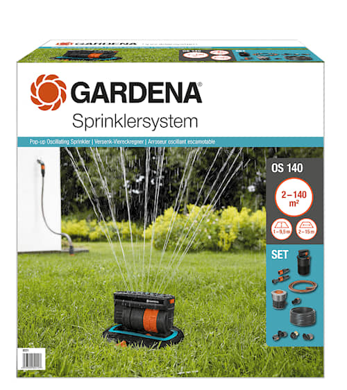 Gardena Set Rektangulärspridare OS 140