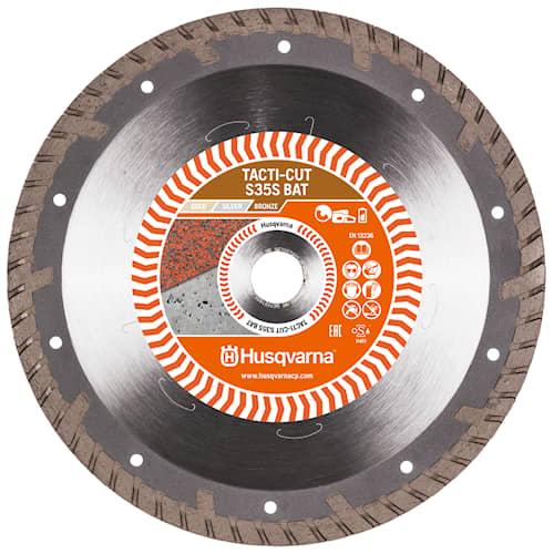 Husqvarna Tacti-Cut S35S Bat 230 10 22.2