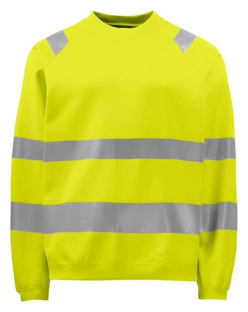 ProJob 6106 Sweatshirt HV Klass 3 Gul 4XL