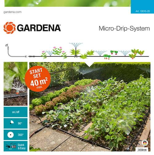 Gardena Micro-Drip-System Startpaket för planterade ytor