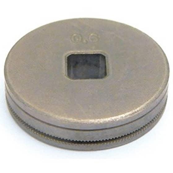 Trådmatarhjul Stål 0,8-1,0