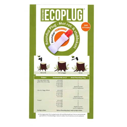 Ecoplug Roundup 500-pack