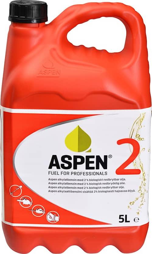 Aspen 2 Alkylatbensin 54x5l, Miljöbensin oljeblandad